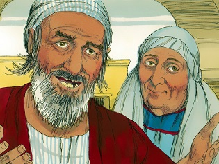 Blind Mans Parents questioned by Pharisees