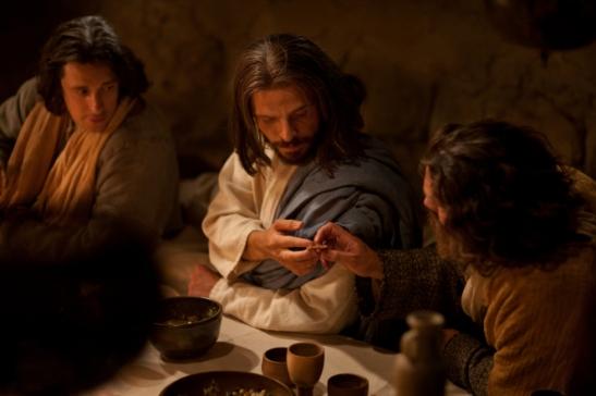 Jesus judas bread