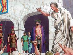 pilate outside